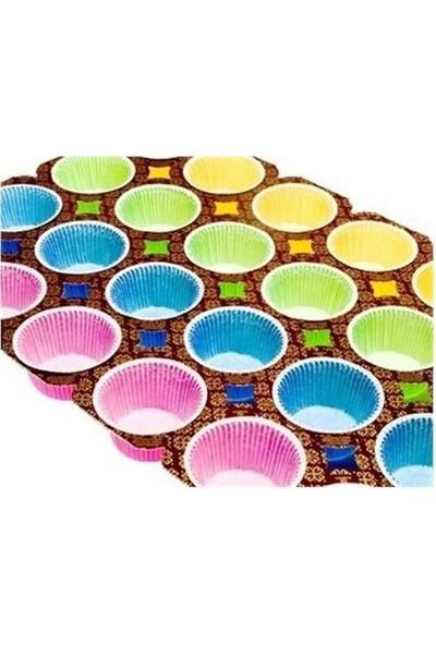 Sweetsorcery 24´lü Renkli Muffin Kek Kalıbı