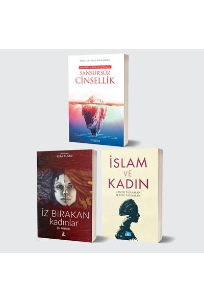 Yüzleşme Yayınları Bilimsel Veriler Işığında Sansürsüz Cinsellik & Islam ve Kadın & Iz Bırakan Kadınlar 3 Kitap Set
