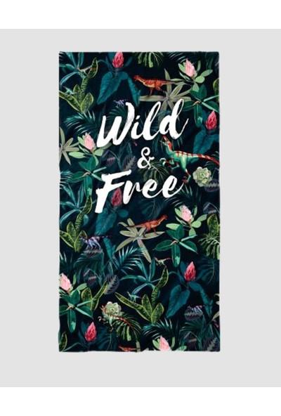 John Frank Plaj Havlusu Wild & Free Beach Towel