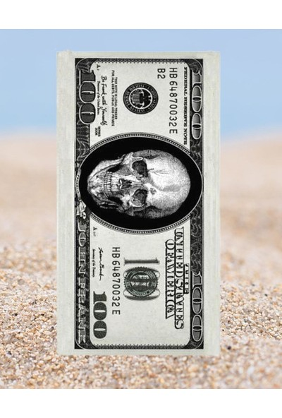 John Frank Plaj Havlusu Dollar Beach Towel