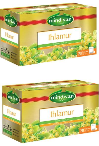 Mindivan 2 'li Ihlamur Bitki Çayı