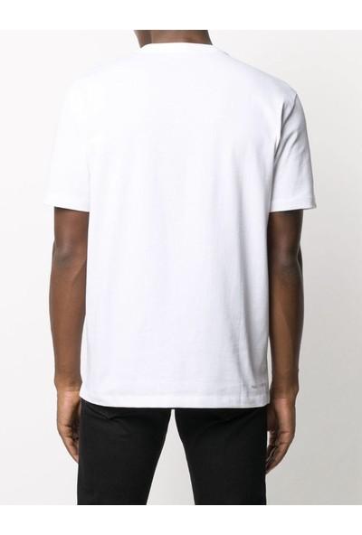 KARL LAGERFELD White Ikonik Puffer Karl T-Shirt