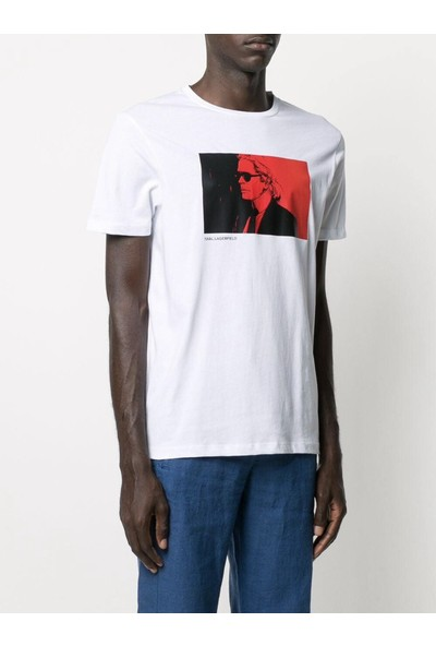 KARL LAGERFELD Graphic Print T-Shirt