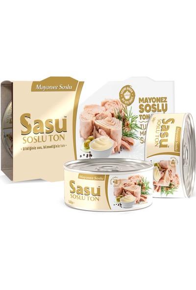 Sasu Mayonez Soslu Ton Balığı 12X160G Iri Parça
