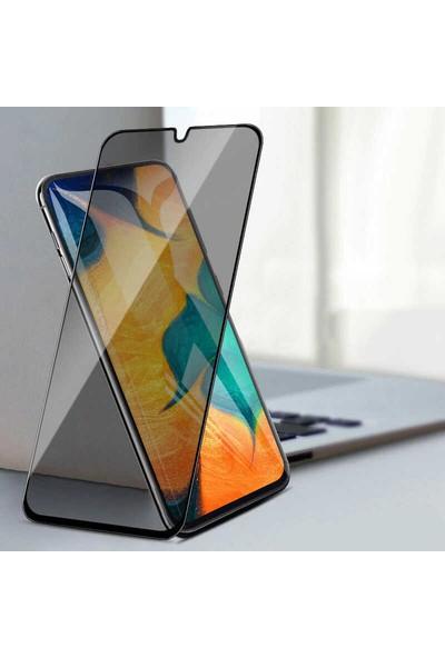 Canpay Samsung Galaxy M21 Ekran Koruyucu Hd Kalite Gizlilik Filtreli Privacy Hayalet Cam