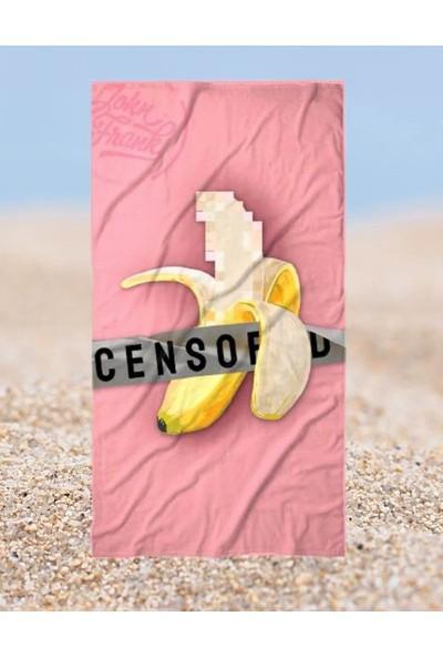 John Frank Plaj Havlusu Cencored Beach Towel