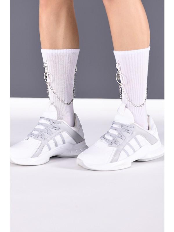 Silver Kyoto Gümüş Takı Setli Tenis Çorabı