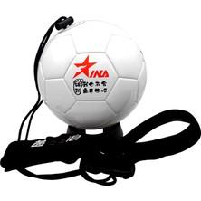 Inlang Makine-Dikişli Eğitim Damla Futbol Topu 8690