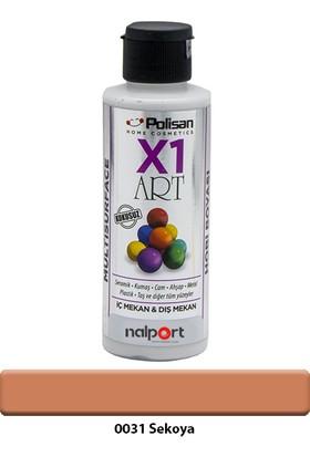 Polisan X1 Art Multisurface Hobi Boyası Sekoya 120 ml
