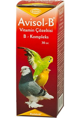 Biyo-Teknik Muhhabet Kuşu Için Tüy Dökülmesine Karşı B Vitamini - Avisol-B