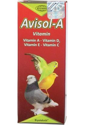 Biyo-Teknik Muhabbet Kuşu E Vitamini - Avisol A