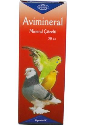 Biyo-Teknik Kuşlar Için Mineral - Avimineral Çözelti