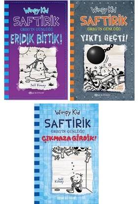 Epsilon Yayınları Saftirik Wimpy Kid 13-15. Kitaplar Set / Jeff Kinney
