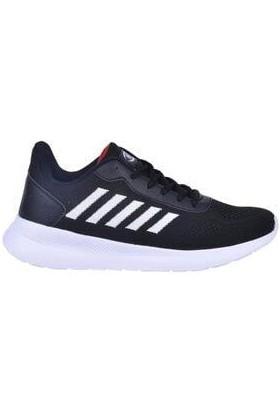 M.P. M.p 211-1743 Casual Siyah-Beyaz Rahat Günlük Yürüyüş Koşu Erkek Spor Ayakkabı