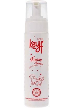 Keyf Durulamasız Köpük Şampuan Junior Bebek Pudralı 225 ml