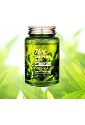 Farmstay Yeşil Çay Tohum Özlü Aydınlatıcı, Kırışıklık Karşıtı Ampul 250ML