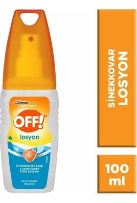 Off Sinekkovar Losyon 100 ml x 3'lü