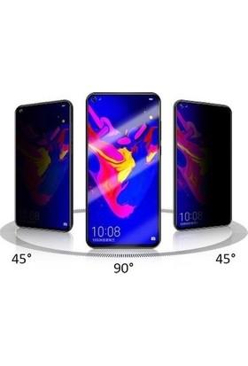 Semers Huawei P40 Lite Tam Kaplayan 5d Hayalet Prıvacy Cam