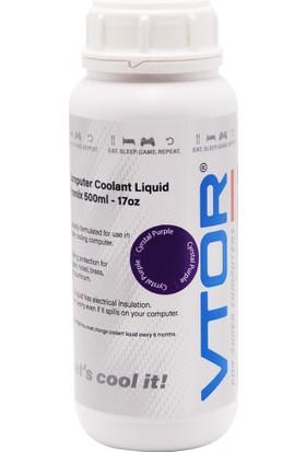 Vtor Bilgisayar Soğutma Sıvısı - Kristal Mor - 500ML