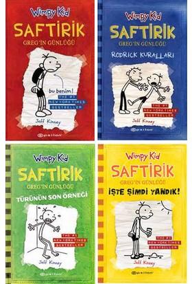 Saftirik Wimpy Kid 1-4. Kitaplar Set - Jeff Kinney