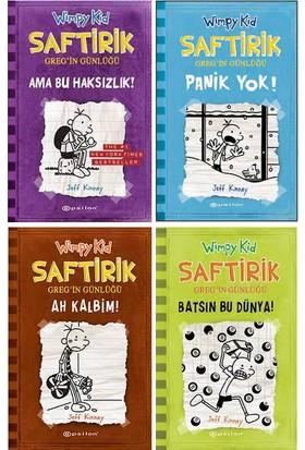 Saftirik Wimpy Kid 5-8. Kitaplar Set - Jeff Kinney