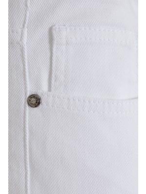 Hatemoğlu Beyaz Slim Fit Spor Pantolon