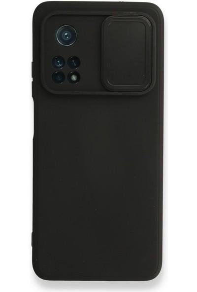 Wowlett Xiaomi Mi 10T Pro Kılıf Kamera Korumalı Sürgülü Kapak Telefon Kılıfı