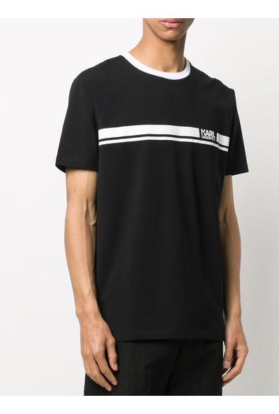 KARL LAGERFELD Chest Logo T-Shirt