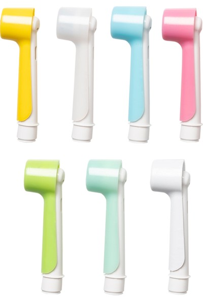 Oral-B Şarjlı ve Pilli Diş Fırçaları Için 2 Adet Turkuaz Renk Koruyucu Kapak