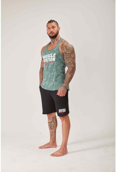 Musclestation Toughman Tank Workout Army Fitness Atlet