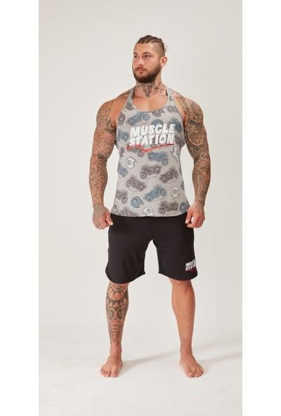 Musclestation Toughman Tank Workout Rider Fitness Atlet
