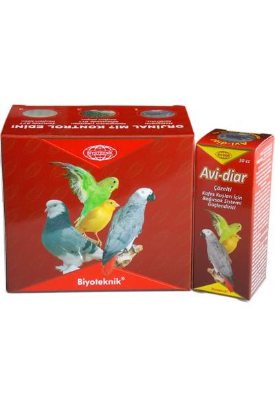 Biyo-Teknik Muhabbet Kuşu Bağırsak Sistemi Geliştirici - Avi-Diar
