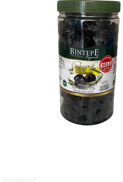 Bintepe Organik Kuru Sele Siyah Zeytin 1 kg
