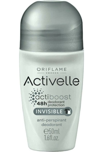Oriflame Activelle Invisible Anti-Perspirant Roll-On