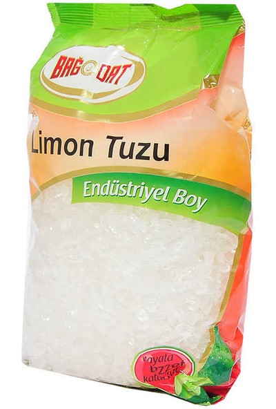 Bağdat Limon Tuzu Granül Çakıl 1000 gr Paket