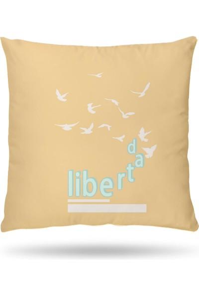 NevresimEv Libertad Dekoratif 4'lü Kırlent Kılıfı -K51