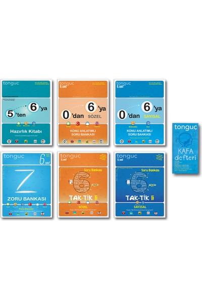 Tonguç Akademi Tonguç 6. Sınıf 5 Ten 6 Ya Hazırlık Seti Zoru Taktikli Full Set