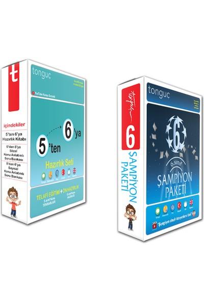 Tonguç Akademi Tonguç 6. Sınıf 5 Ten 6 Ya Hazırlık Seti Şampiyon Paketi Full Set