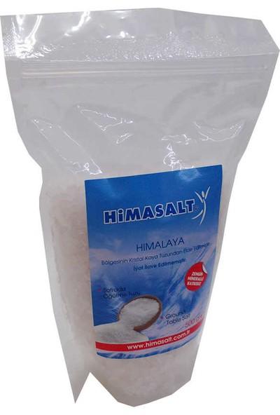 Himasalt Yemeklik Himalaya Kristal Çakıl Kaya Tuzu Beyaz 500 gr