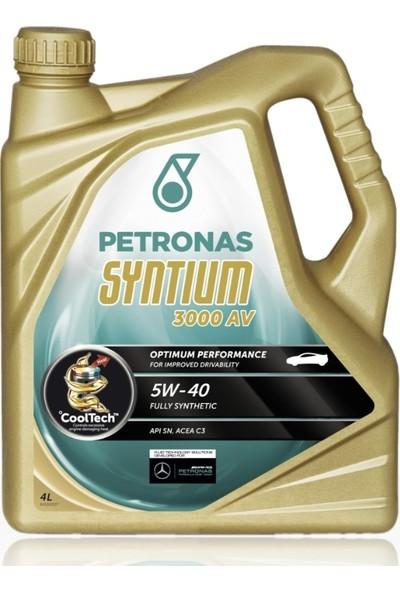 Petronas Syntıum 3000 Av 5/40 4 Lt Partiküllü 2021 Üretim Mb-Bmw- Vw-Porsche ve Rn Onay