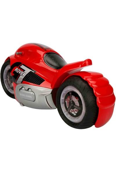Rising Toys Stunt Uzaktan Kumandalı Motosiklet 36 Cm. - Kırmızı