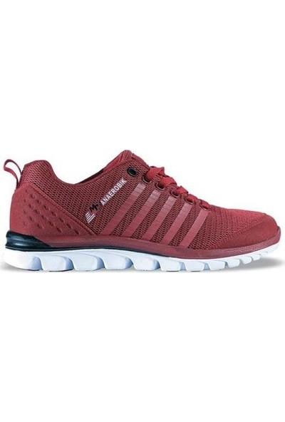 M.P. M.p 171-1614 Anaerobik Bordo Rahat Günlük Yürüyüş Koşu Erkek Spor Ayakkabı