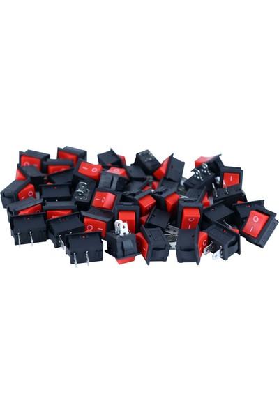 YYB Devre Anahtarı, Güç Anahtarı, Aç Kapa Anahtar, Mini Anahtar, On Of Switch, 20 Adet