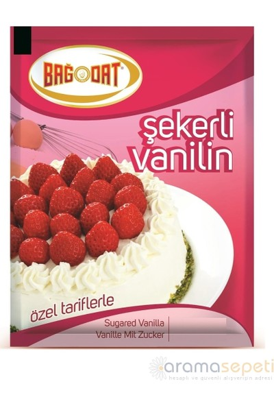 Bağdat Baharat Şekerli Vanilin 1000 gr