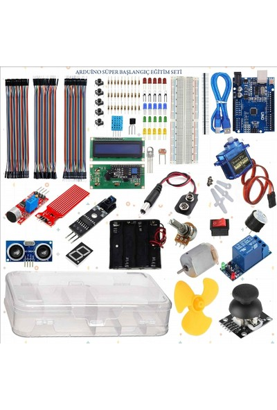 Arduino Eğiteklab Robotik Kodlama Arduino Süper Başlangıç Seti
