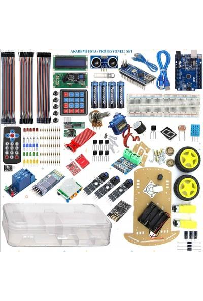 Arduino Eğiteklab Robotik Kodlama Arduino Akademi Usta (Profesyonel) Set