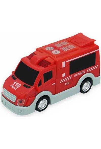 Happy Toys Şehrin Kırılmazları Sürtmeli Itfaiye Aracı