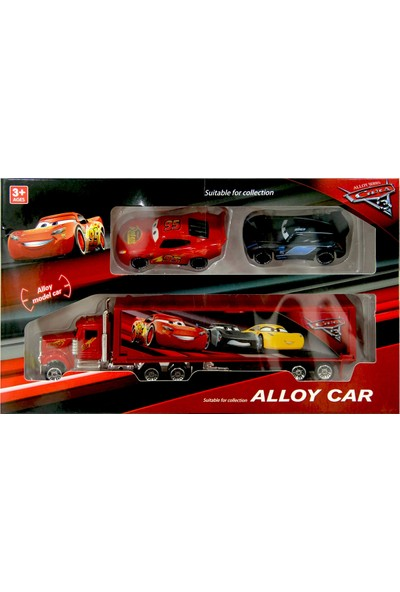 Happy Toys Alloy Car Cars 3 Taşıyıcı Tır