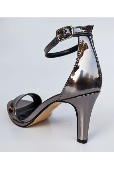 Bablisok DNL-7542 Ince Topuk Tek Bant Abiye Kadın Sandale