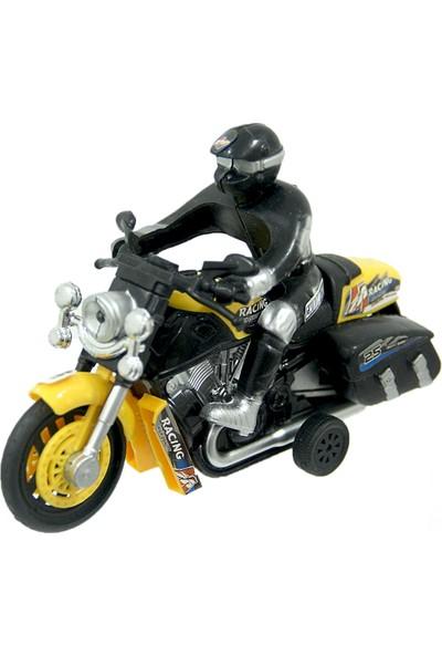 Happy Toys Racing Autobike Işıklı Sesli Çek Bırak Motor